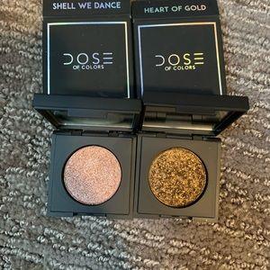 BNIB Dose of colors block party glitter eyeshadow